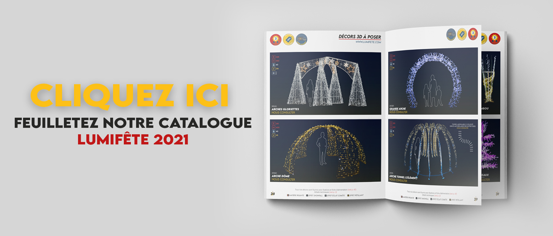 Catalogue Lumifete 2021 en ligne